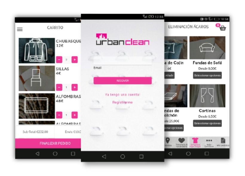 Urbanclean. Aplicación híbrida para Android e IOS -1