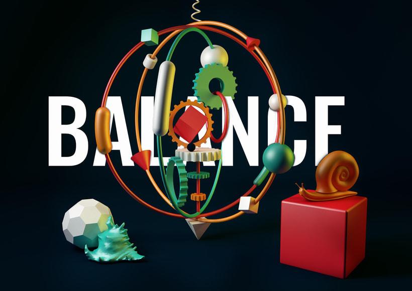 TOTEM: BALANCE. De cero a render con Cinema 4D -1