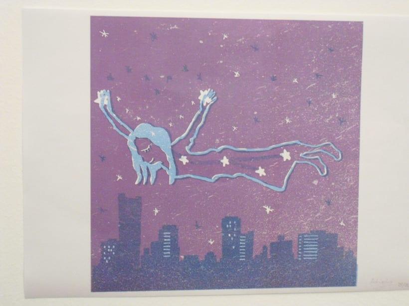 Mi Proyecto del curso: Ilustración original de tu puño y tableta. Stardust 3