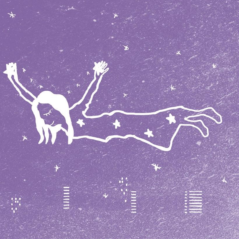 Mi Proyecto del curso: Ilustración original de tu puño y tableta. Stardust 2