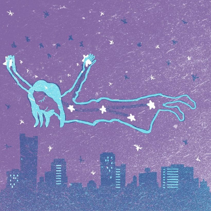 Mi Proyecto del curso: Ilustración original de tu puño y tableta. Stardust 0
