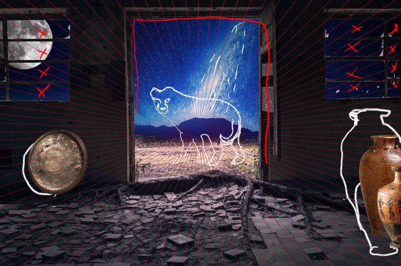 """Proyecto: Fotomontaje y retoque creativo, """"Orion"""" 0"""