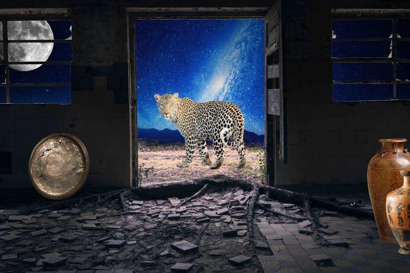 """Proyecto: Fotomontaje y retoque creativo, """"Orion"""" 1"""