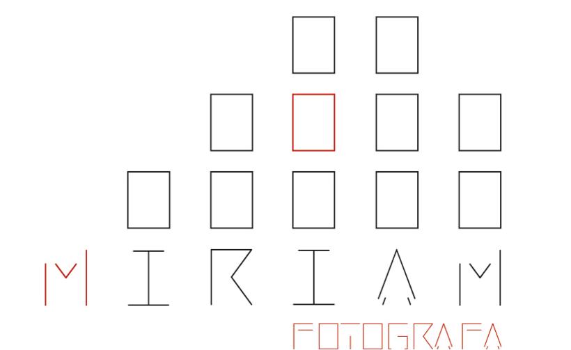 Logotipo Miriam Fotógrafa -1
