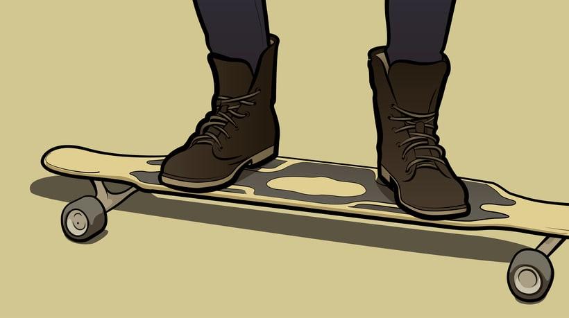 Ilustración vectorial estilo GTA 4