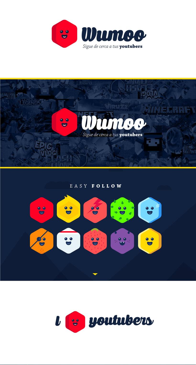 Wumoo, social app. -1