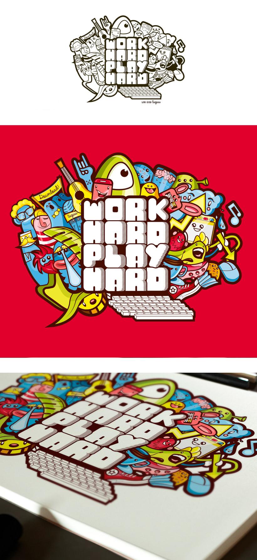 Work Hard! -1