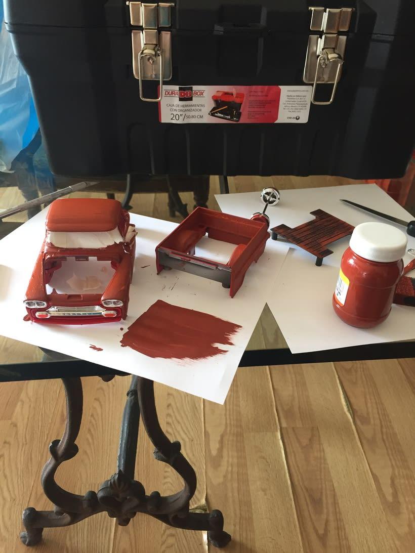 Mi Proyecto del curso: Fotografía creativa en estudio con modelos a escala 1
