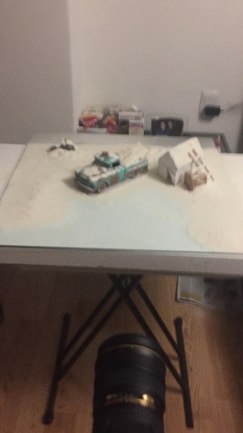 Mi Proyecto del curso: Fotografía creativa en estudio con modelos a escala 9