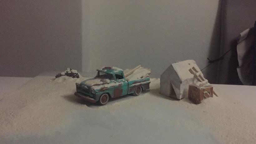 Mi Proyecto del curso: Fotografía creativa en estudio con modelos a escala 10