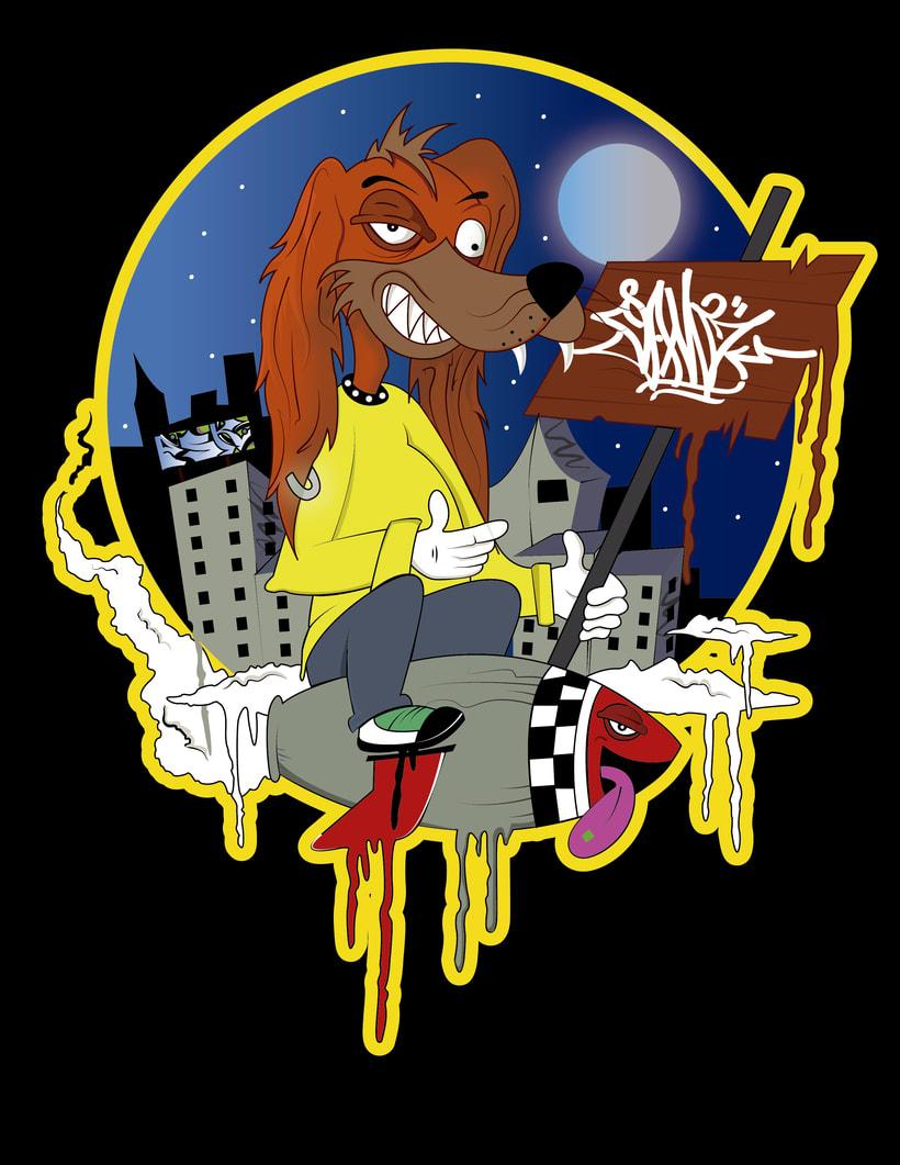 crazy dog 1