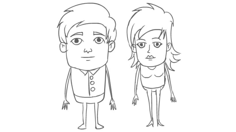 Vecinitos: Creación de un microuniverso de personajes, enfocados a una miniserie animada. 1