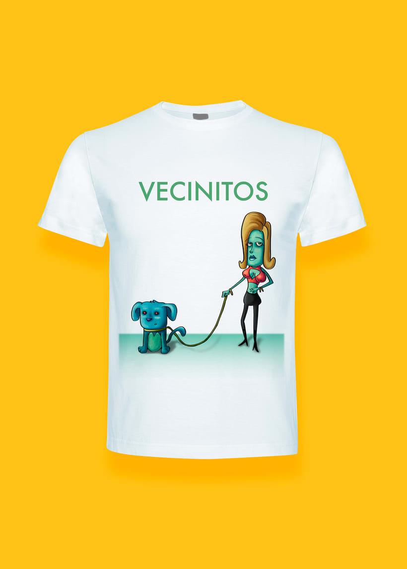 Vecinitos: Creación de un microuniverso de personajes, enfocados a una miniserie animada. 8
