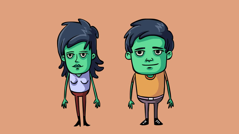 Vecinitos: Creación de un microuniverso de personajes, enfocados a una miniserie animada. 2