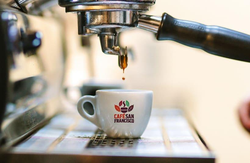 Marca para Cafetería - Café Orgánico 9