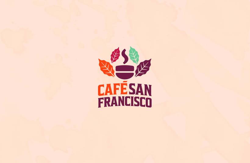 Marca para Cafetería - Café Orgánico 0