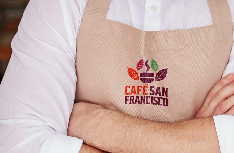 Marca para Cafetería - Café Orgánico 8