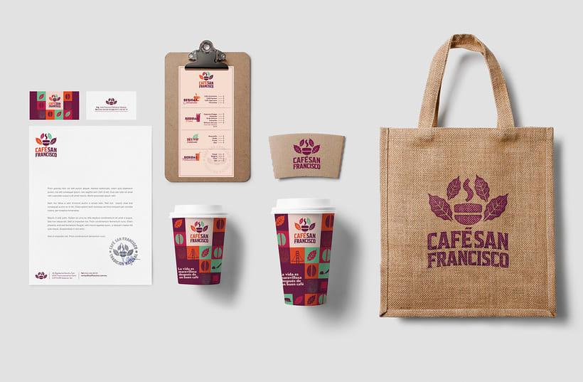 Marca para Cafetería - Café Orgánico 5
