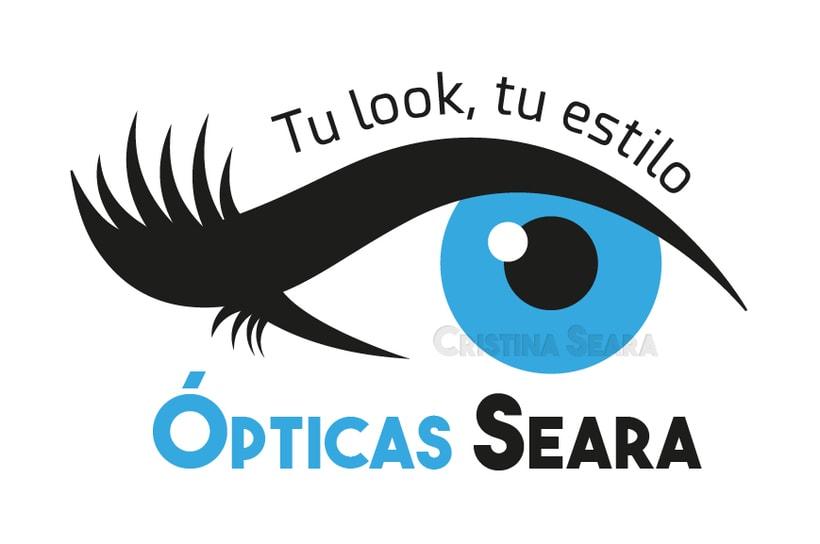 Logotipo Ópticas Seara 0