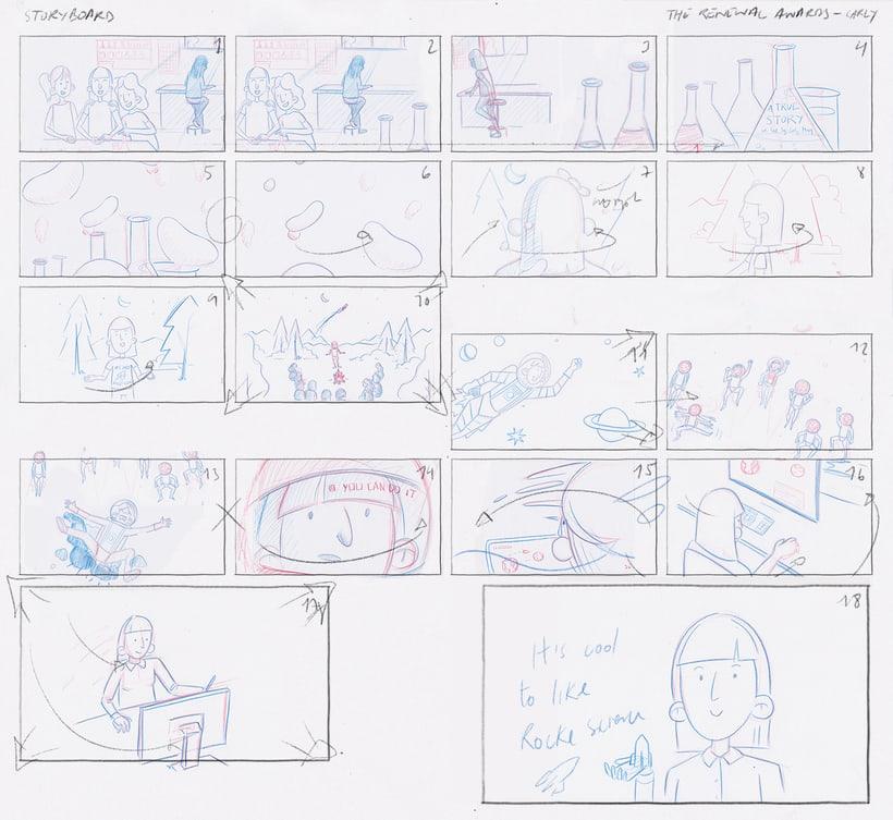 A True Story - Carly process 3