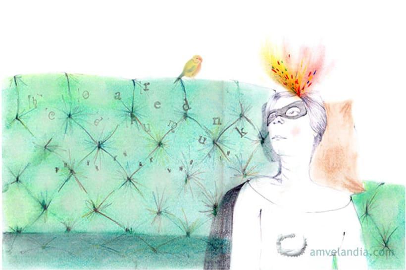 Ilustraciones para Cuestionario Proust en La Lectora de Guermantes. 0