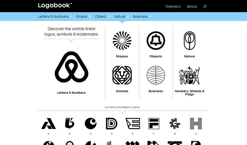 Logobook: una biblioteca con los mejores logotipos 1