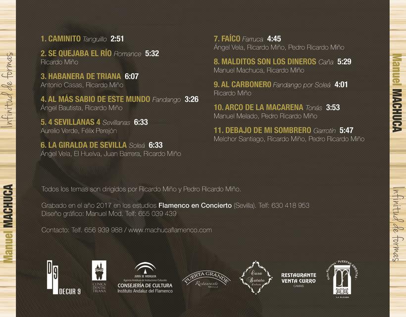 """Diseño discográfico """"Manuel Machuca"""" 4"""