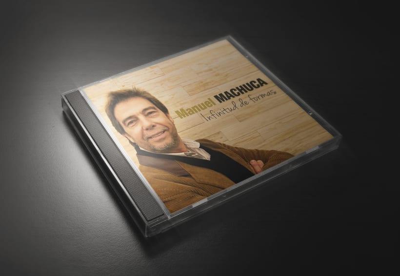 """Diseño discográfico """"Manuel Machuca"""" 0"""