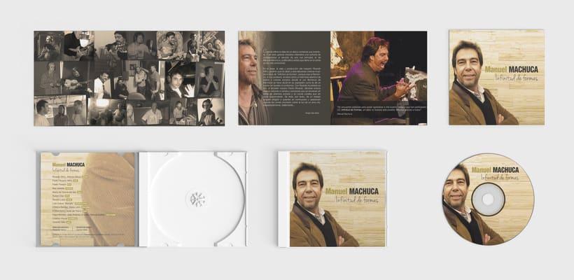 """Diseño discográfico """"Manuel Machuca"""" 2"""