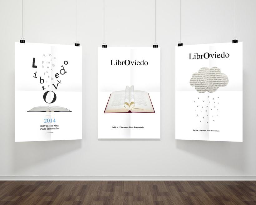 Propuestas de carteles para LibrOviedo -1