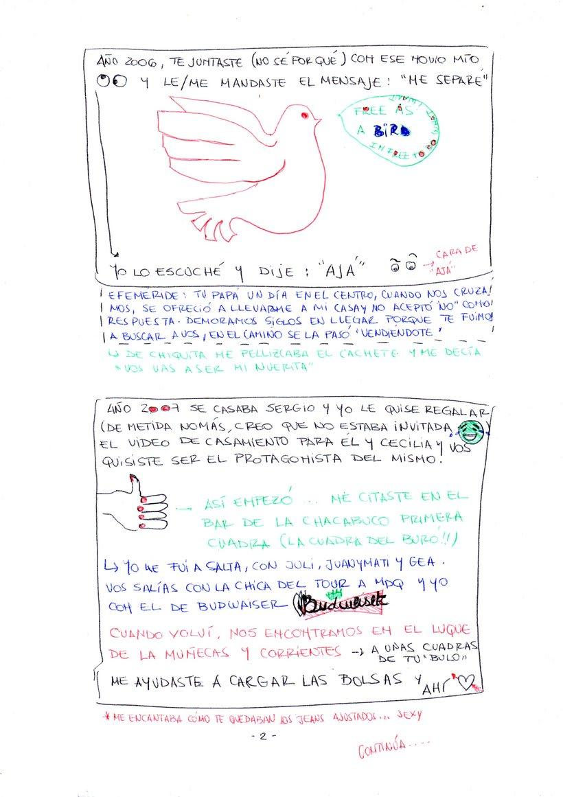 Proyecto viñeta con Boli! (Faltan páginas pero es porque llevan fotos)  2