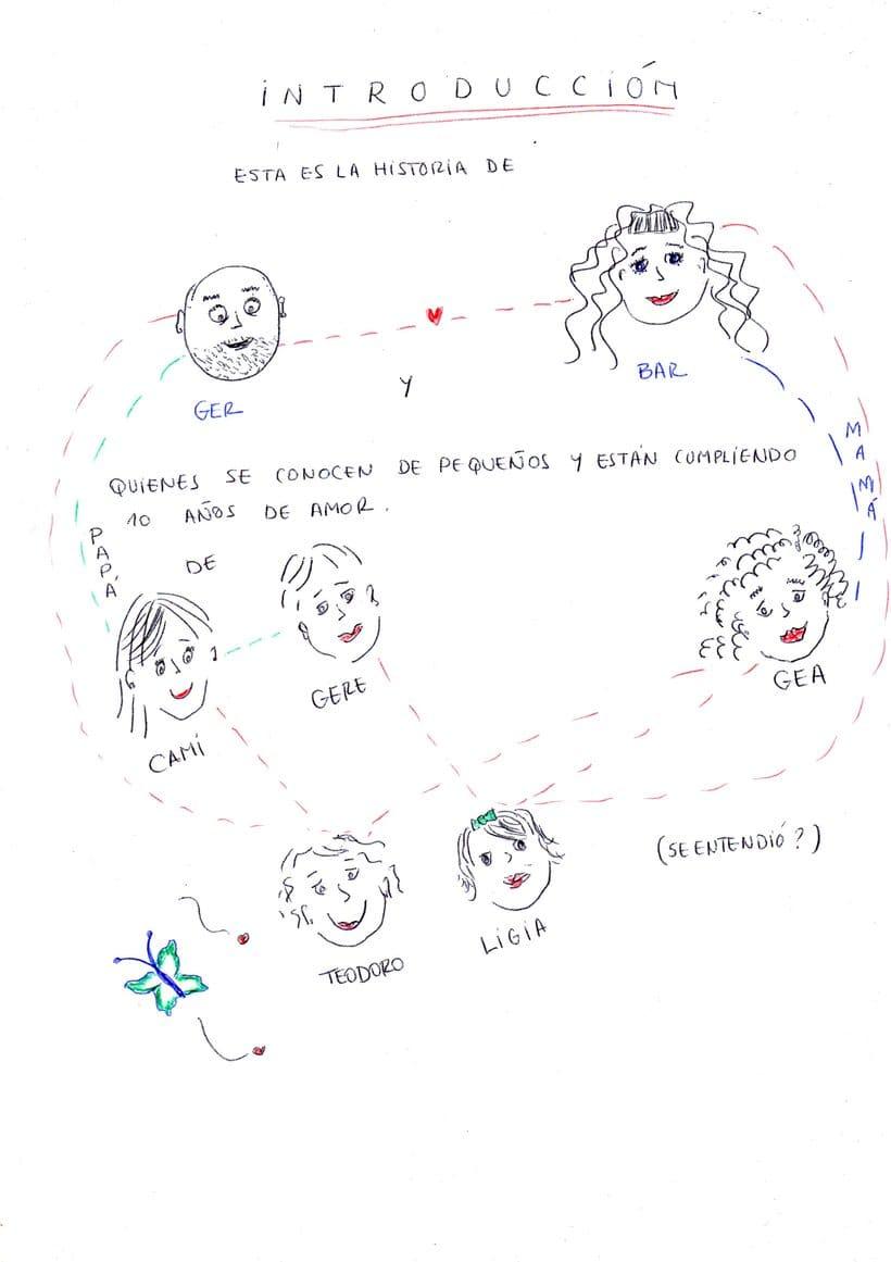 """Mi proyecto en """"Narrar en viñetas con un boli"""" (Faltan algunas páginas, pero las omití porque llevan fotos)  0"""