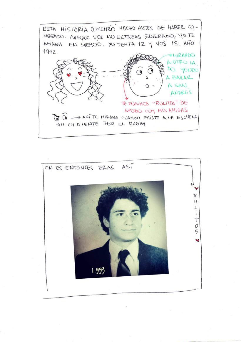 """Mi proyecto en """"Narrar en viñetas con un boli"""" (Faltan algunas páginas, pero las omití porque llevan fotos)  1"""