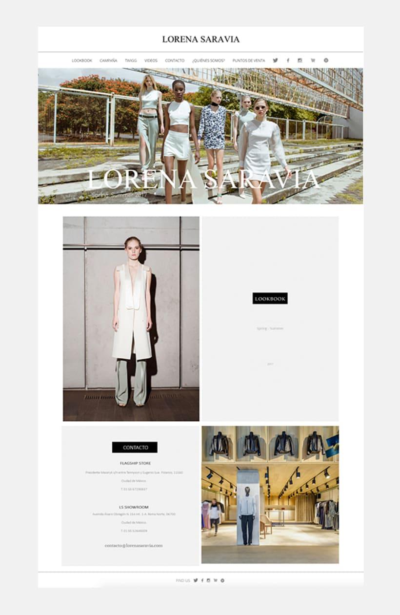 Lorena Saravia Website 2