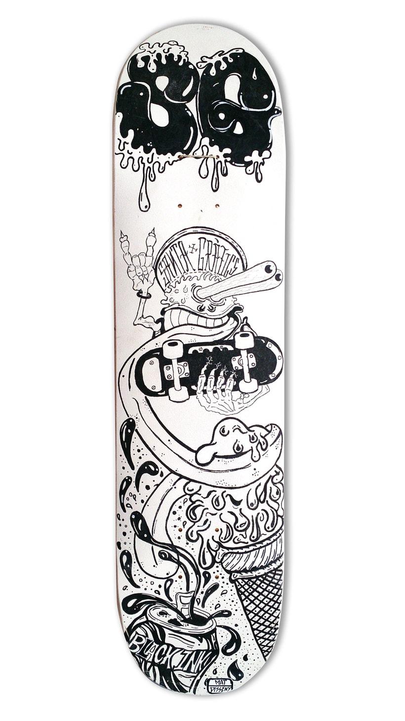 Skateboard • The Critter  #SkateArt 2