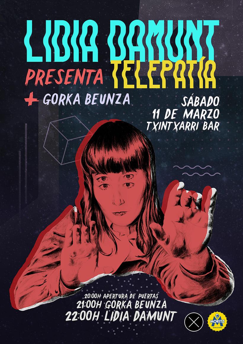 Cartel para concierto: Lidia Damunt + Gorka Beunza 0