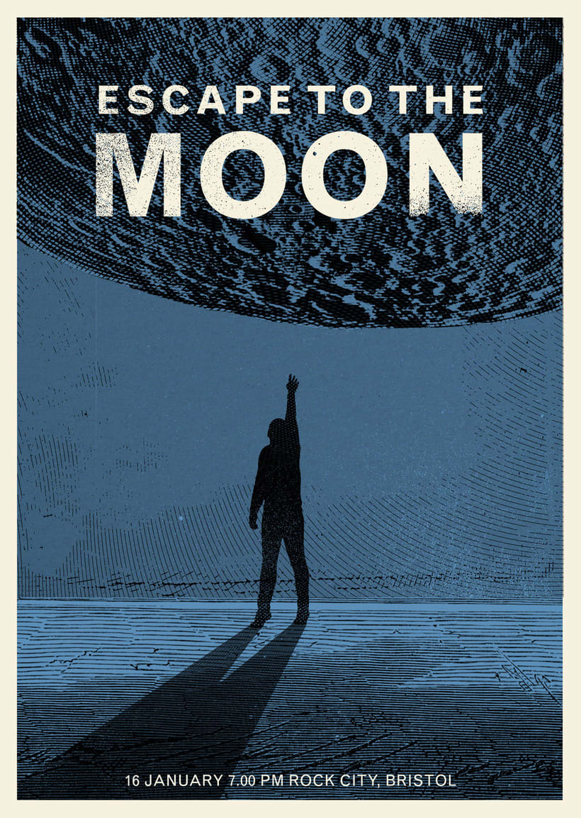 ESCAPE TO THE MOON 0
