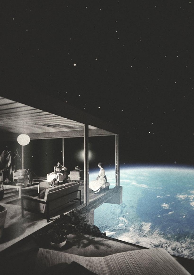 Collages espaciales 1