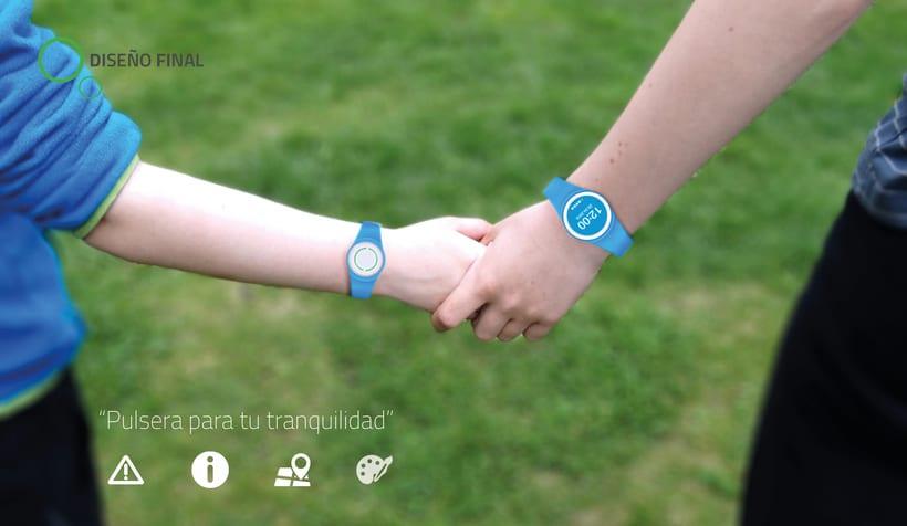 Findly - Localizador personal - Pulsera niños personalizable 0