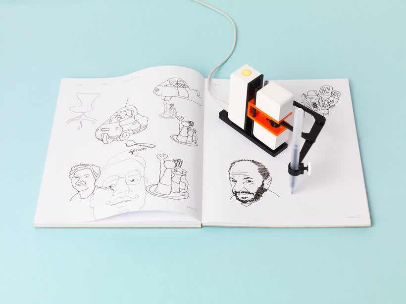 Line-us: cuando la robótica y la ilustración se juntan 1