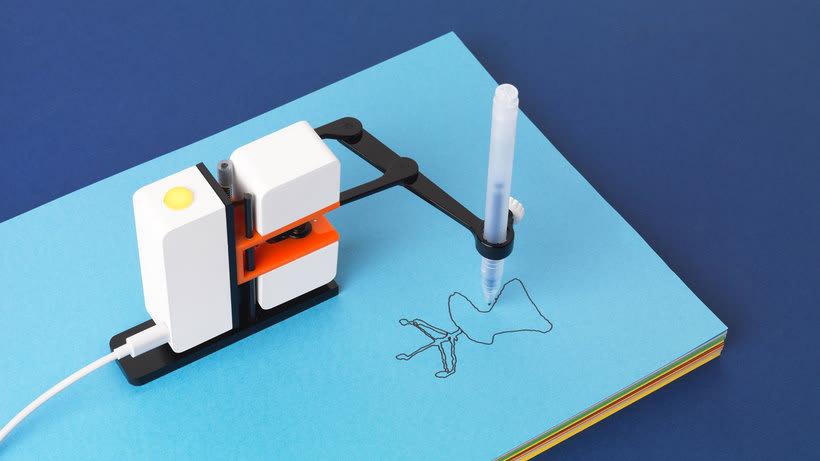 Line-us: cuando la robótica y la ilustración se juntan 6