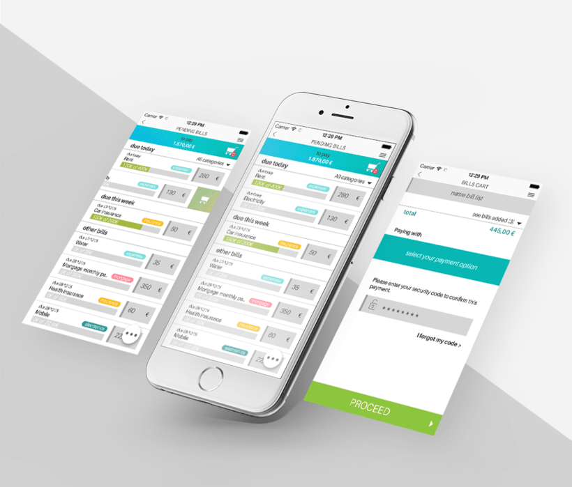 (Wireframes) Bill Payments - Flow idea 2