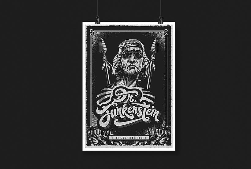 Dr. Funkenstein - Logo 6