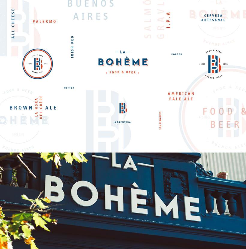 La Bohème - Branding 1