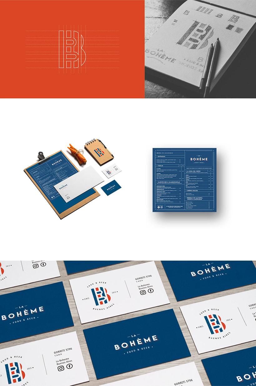La Bohème - Branding 4