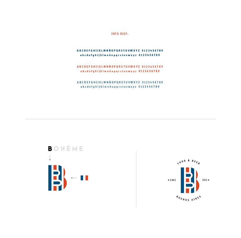 La Bohème - Branding 3