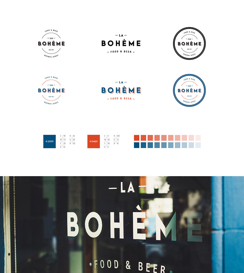 La Bohème - Branding 2