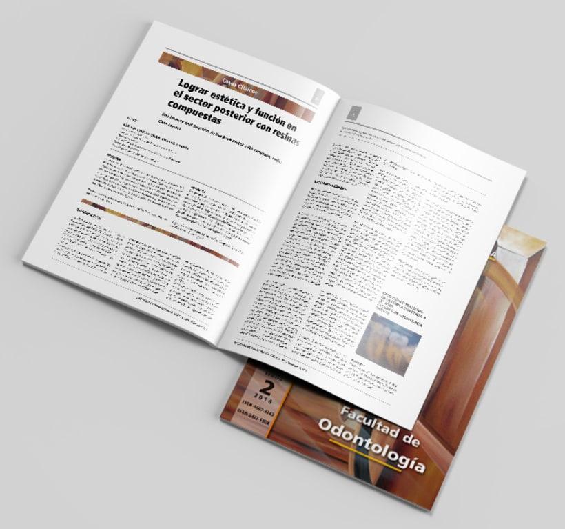 Revista de Odontología y diseño promoción Vendimia 1