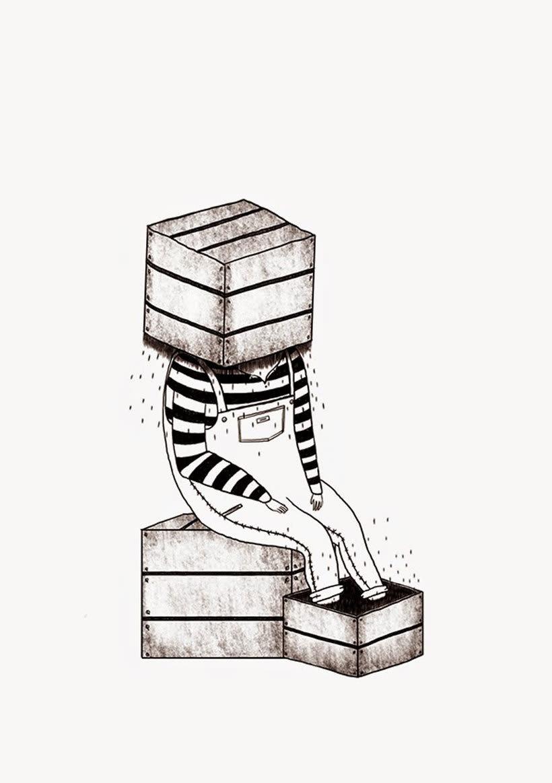 La ilustración tierna y surrealista de Liébana Goñi 11