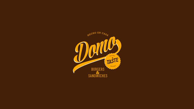 "Domo ""Burgers & Sandwiches"" 1"